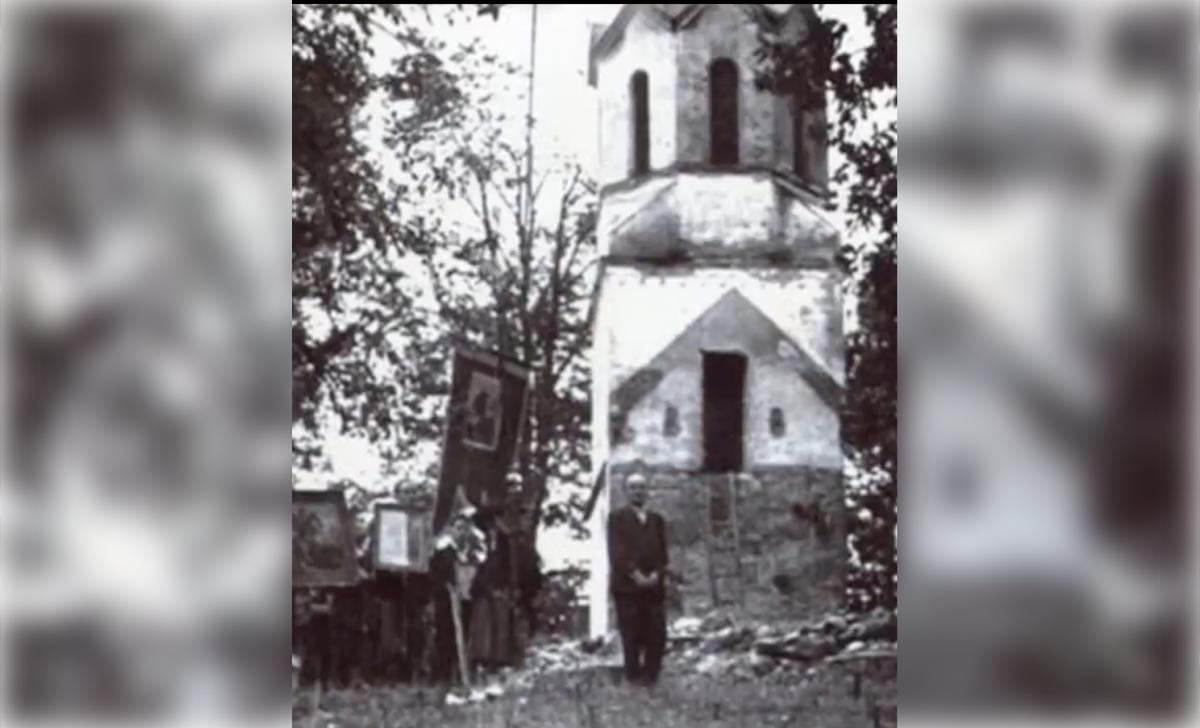 Звоник након бомбардовања